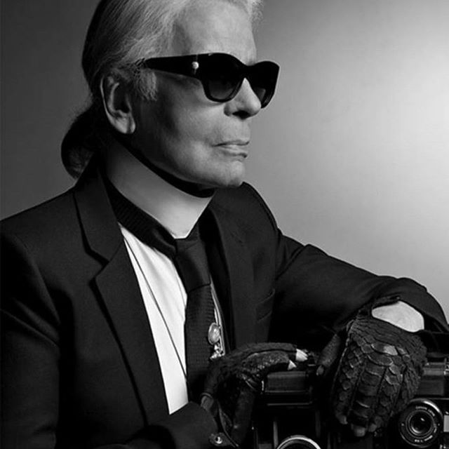 Karl     Legend.Rest In Peace. Thank  You for inspiring us with your extraordinary Example.  #karllagerfeld #ripkarllagerfeld