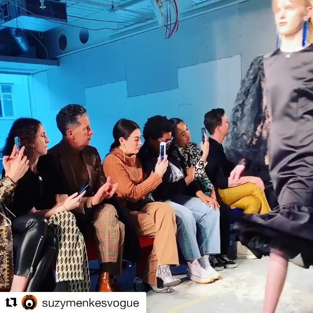 #Repost @suzymenkesvogue @christopherkane  Christopher Kane: finale