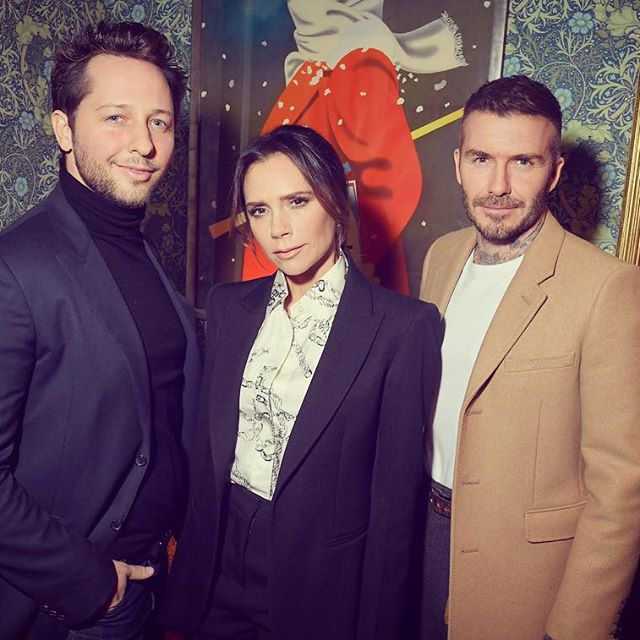 Five important facts about last night s @victoriabeckham party and YouTube channel launch: 1.) I cohosted it with @davidbeckham, fulfilling a lifelong fantasy of us referring to each other as  DB  all night. 2.) When I booked the Spice Gurrls, a drag troop, as a surprise for VB I had no idea Posh would have a beard (OR DID I?) 3.) VB and I met @adriennelwarren when we went to see @tinathemusical and she was so incredible VB asked her to come sing a few songs and she literally brought the house down. 4.) Odell Beckham, Jr is of no relation to these Beckham s. And 5.) Regarding the previous point, DB told me he was a footballer too. But different. Sports are confusing!