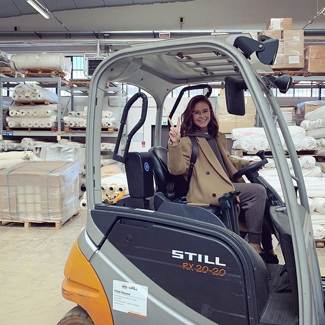 Cruising around one of the best factories in Italy in my cool electric car, scheming how to scale some breakthrough materials science innovations  while I m at it. Hi Team @futuretechlab