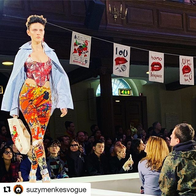 #Repost @suzymenkesvogue with @get_repost        Flagging Vivienne Westwood s playing cards    And their plan to save this earth.