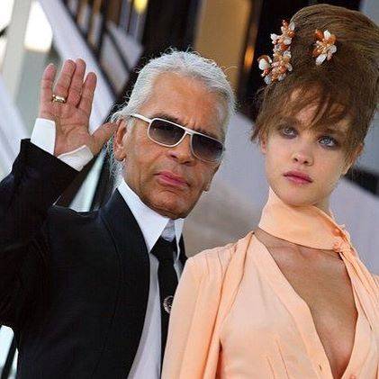 I can t deal with this. My heart is exploding. We knew this day would come but I am not ready for it. You were a quiet force of love and support for so many people, me included. So grateful for everything you have done for me. RIP king @karllagerfeld