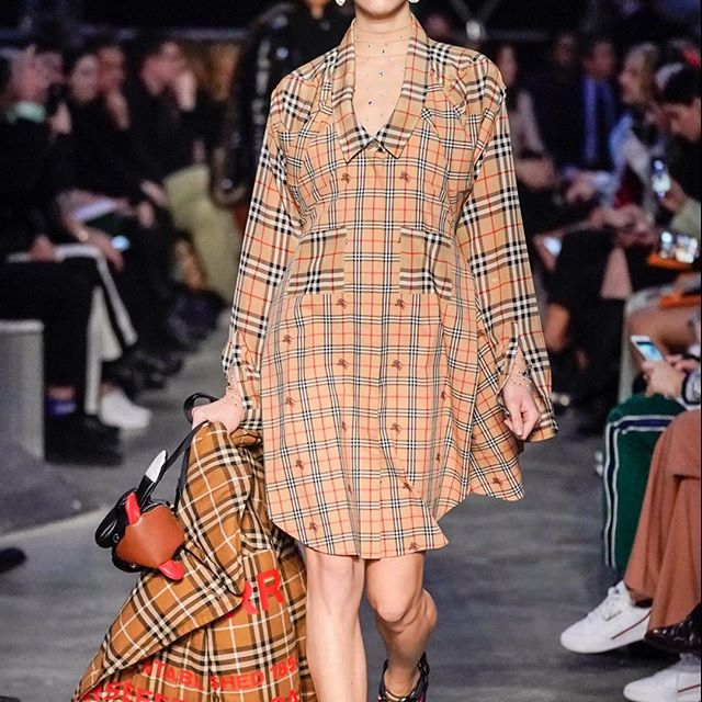 @burberry show         by @riccardotisci17 #lfw #burberry