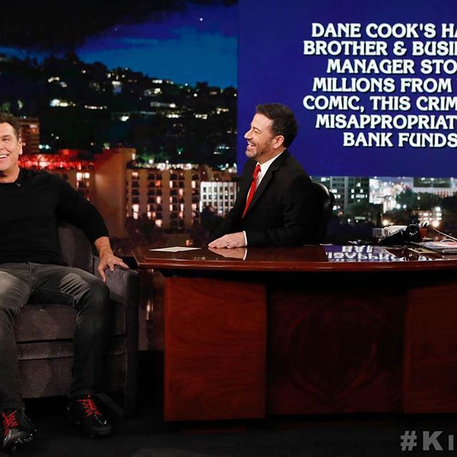 His brother stole all his money! Go see his new show!   @DaneCook #TellItLikeItIsTour