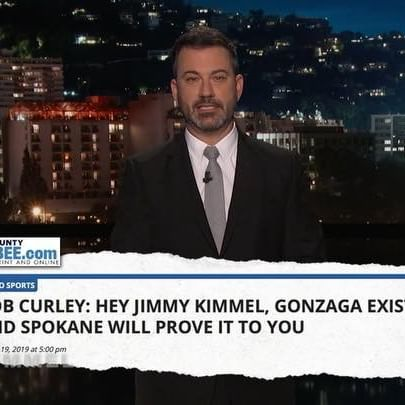 Thank you for all the informative tweets, but Jimmy still doesn t believe #Gonzaga exists  #MarchMadness #NCAA #Spokane