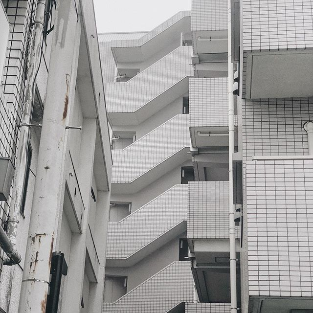 GRAYSCALE Pt. 3/4 of film location scouting frames, guest-starring @pierretoussaint s brilliant solo show in Nakameguro [if you re in Tokyo, absolutely must see it before it closes in a few days]