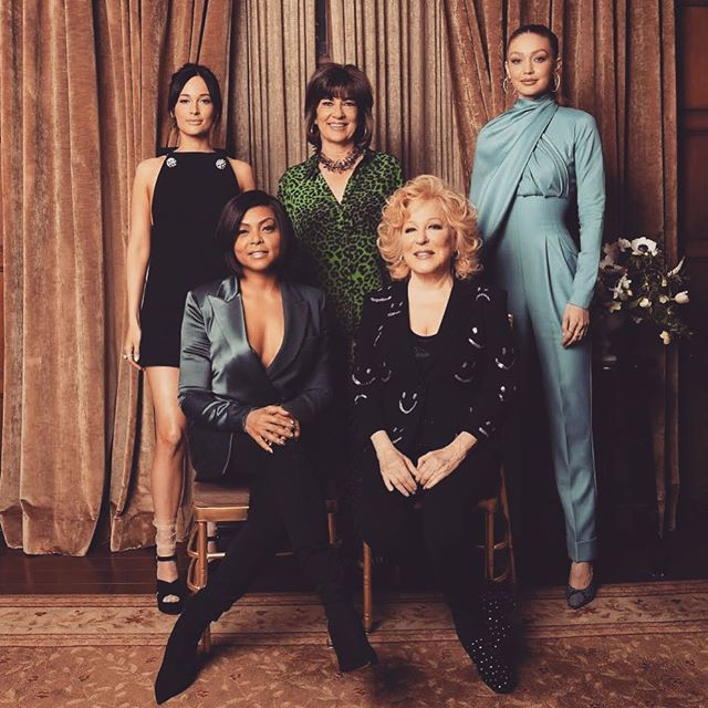 #POWERofWOMEN.   So grateful to @variety for this recognition and an amazing afternoon of celebration and inspiration. Honored beyond words. Thank you to these incredible women for having the courage everyday to share your light with the world, it is so felt. @bettemidler @camanpour @tarajiphenson @spaceykacey