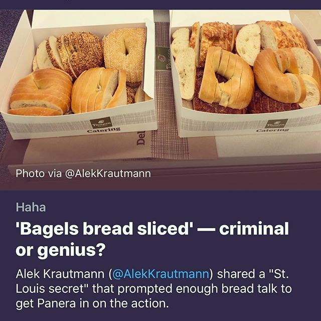 I was completely off the grid last week and expected to come home to a new world order. Ah well. Trump is still president, Brexit is still a shit show, and the prime minister of New Zealand is still my spirit animal. Turns out the only SCANDAL was this: St Louis-style bagels, which I can confirm are just common sense good cookery. (It s also one of many culinary advancements from my homeland. Another one? Google  gooey butter cake. ) Ps. Thanks @karliekloss for educating the people!