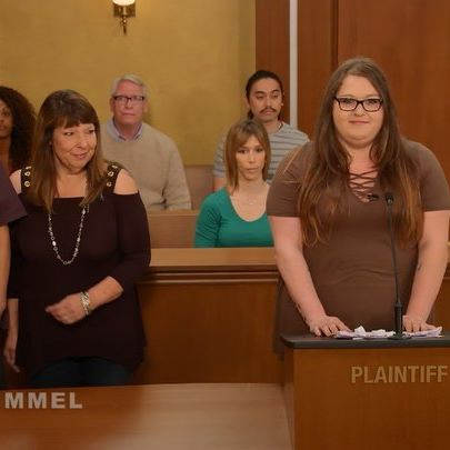 Real litigants put their fate in Jimmy on an all new #JudgeJames  @IamGuillermo