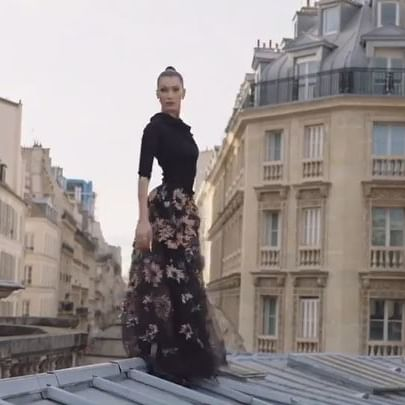 The always major   collections   video for @voguemagazine !!! Shot on the last day of Paris fashion week, wearing some of the best looks from every designer of the week. Every single one was Unreal to say the least!  We laughed all day and I am so deeply grateful for each one of you for so so many reasons. Thank you FOREVER!!!!!!!! @jordenbickham @gvsgvs @stuart_winecoff @kelmcgee23 @laurentphilippon @jenmyles @edskimstagram  Ps. This is the long version.....!!! Watch if you dare. But good news I ll be putting up a few of my favorite snips from @voguemagazine a little later