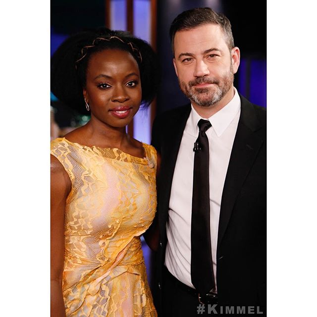 She survived a zombie apocalypse & a Thanos snap (she has a very good agent)... @DanaiGurira! #AvengersEndgame