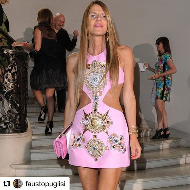 Longtime friendships    #Repost @faustopuglisi  Puglisi Overdose with my L VE!    I love YOU! @anna_dello_russo    #faustopuglisi