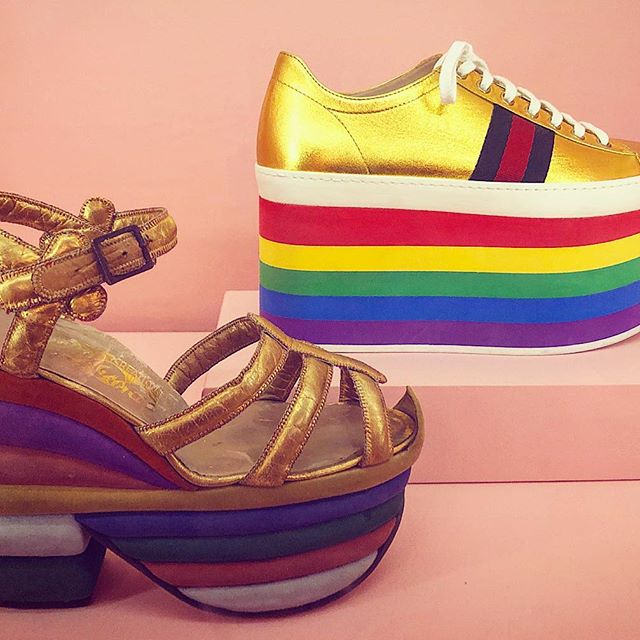 I hope everyone s weekend is as merry and gay as these platforms!    @metmuseum