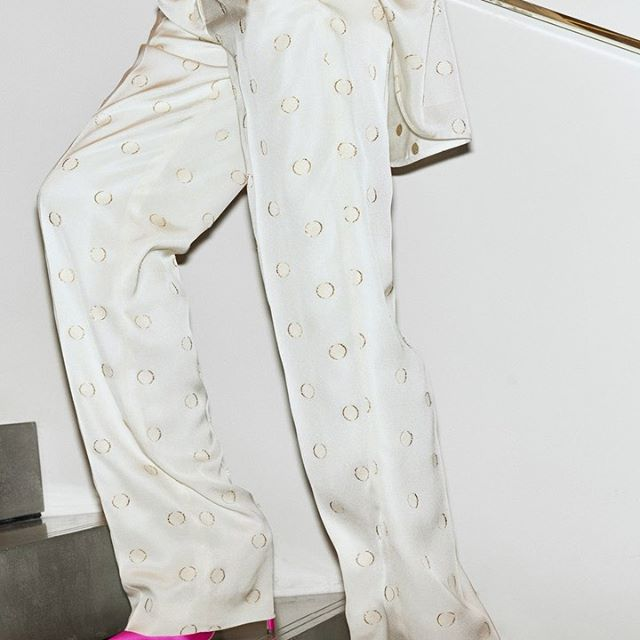 My #VBPreAW19 pyjama suit is perfect for the plane, the party and the bedroom. x VB