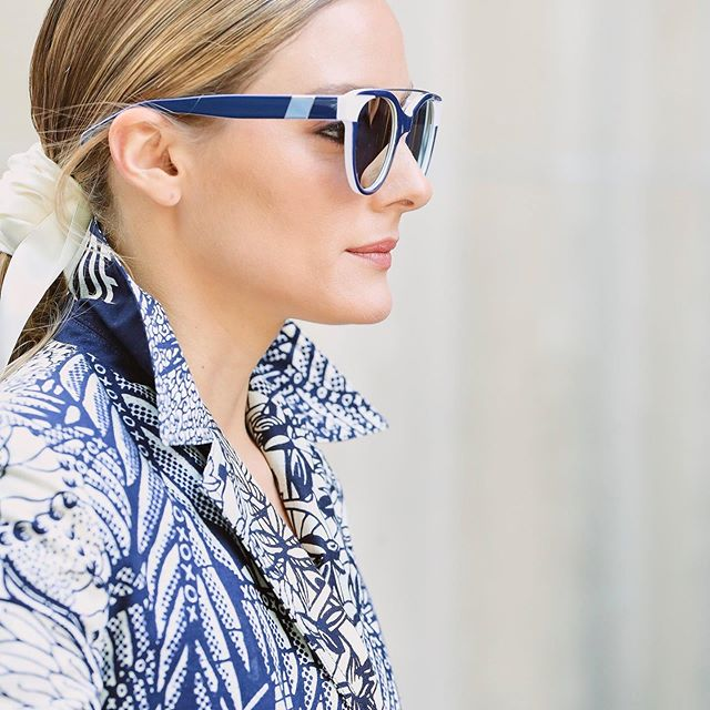 Reflecting on #coutureweek in our new #WLxOP sunnies now with mirrored lenses       Link in bio!