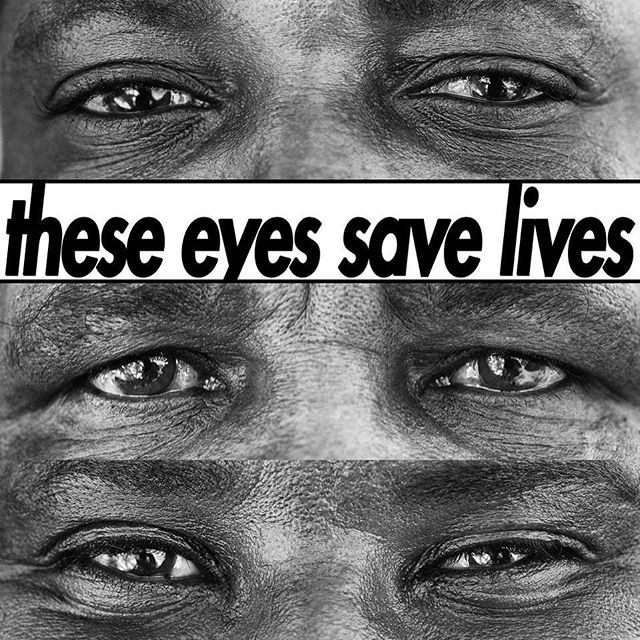 THESE EYES.  They belong to Save the Rhino Trust Namibia trackers and Rhino Rangers - the men who risk everything, everyday to protect the last free-roaming population of black rhinos left on earth.  They ve seen it all, and they still see HOPE in the madness. So today on World Ranger Day July 31, let s show them we see them and help them do their job for rhinos, for us and for the future of this planet!  Join me, @savetherhinonamibia and @wildnetorg by sharing this picture and donating at https://donate.wildnet.org/srt Let s spread awareness using #eyeseeyou.