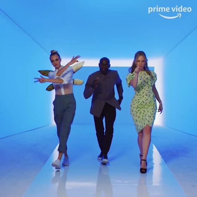 Our own music video @thedavidgyasi @tamzinmerchant @amazonprimevideo
