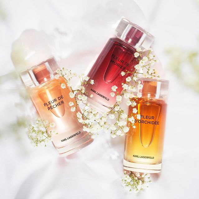 Fruity, floral or spicy? Choose between three fresh perfumes for everyday wear. #KARLLAGERFELD