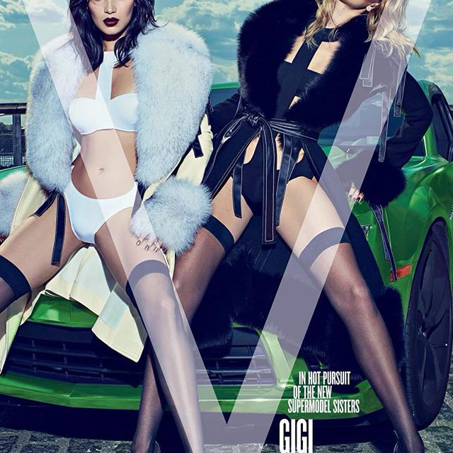 Throwback to Me & G on our first V cover together. Full circle !! We love you Stephen ! @vmagazine 2015