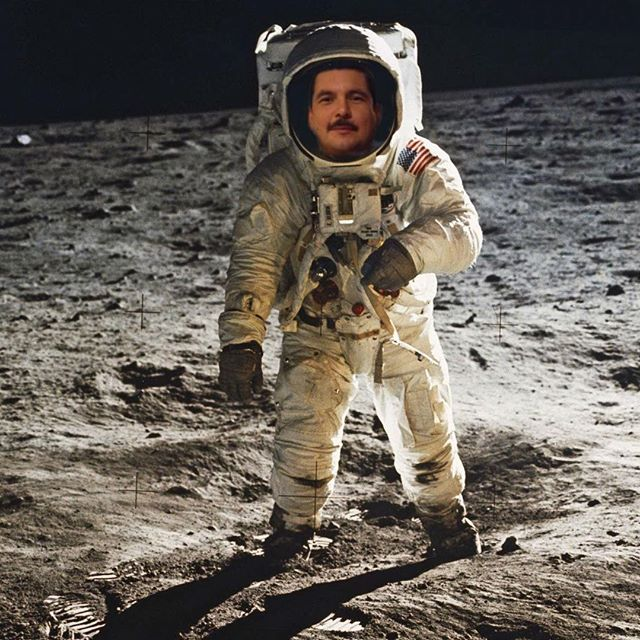Haters will say it s Photoshop... #MoonLanding50 #Apollo50th @IamGuillermo