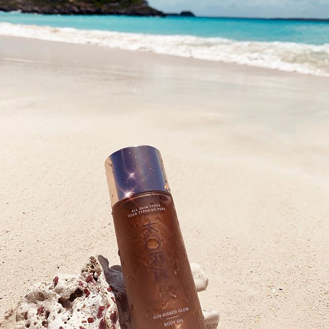 Must have product for glowing skin this summer      @koraorganics  Sun Kissed Glow   Body Oil