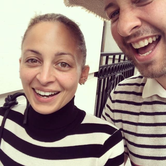 SOUND ON to hear my incredible (incredibly offensive) British accent and see how much @nicolerichie loves it!