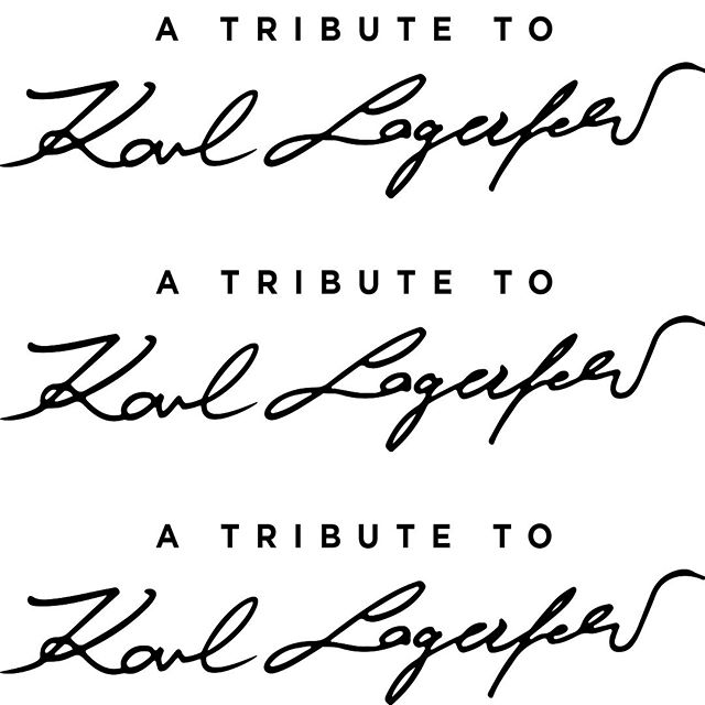 Reflecting Karl's generous spirit, the tribute project will support the  Sauver la Vie  charity initiative for medical research at the Paris Descartes University. Karl also supported this charity for many years. #KARLLAGERFELD #ATRIBUTETOKARL