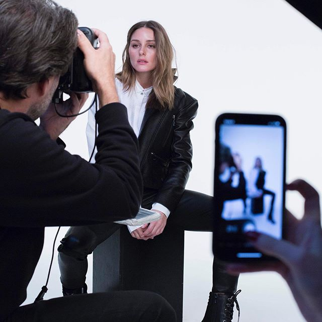 I was beyond thrilled to work with one of my favorite photographers @chriscolls on bringing the #KarlxOlivia campaign to life!      See more in stories and read about the entire collaboration process & go behind-the-scenes of the shoot on OliviaPalermo.com!