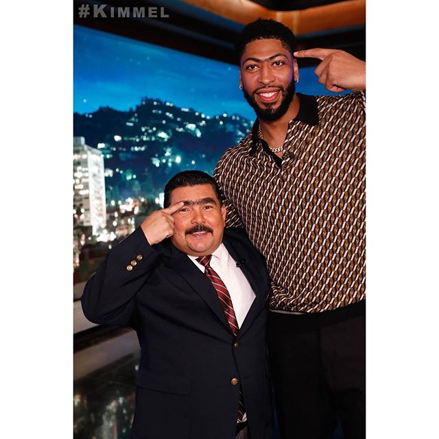 Brow Bros. @IamGuillermo @AntDavis23 @Lakers #LakeShow #TheBrow