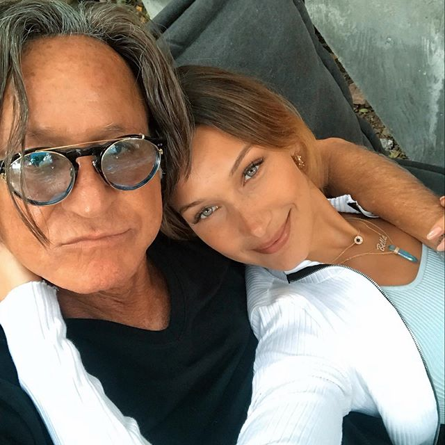 I cherish these moments    my favorite kind of morning !! I love you baba @mohamedhadid