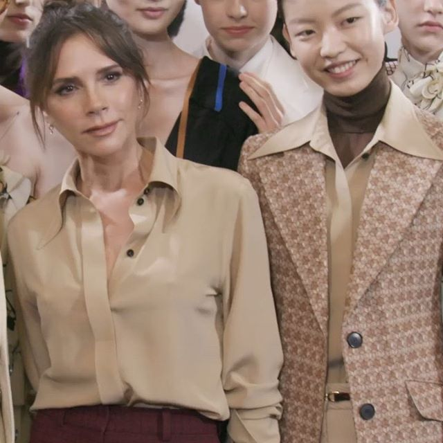 What an incredible few days at #LFW. Thank u to my team and everyone who helped support this season on the show and the launch of #VictoriaBeckhamBeauty! Hope you all like my new collection x VB