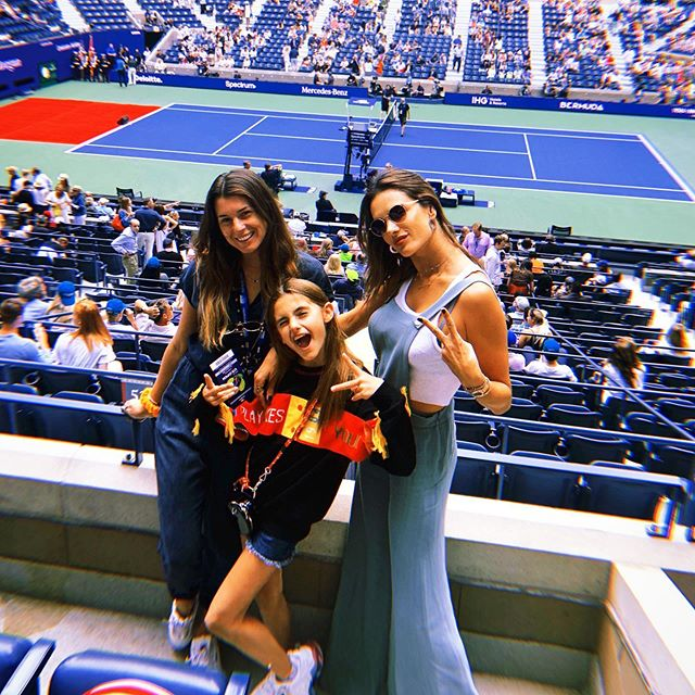 US Open with my girlzzz