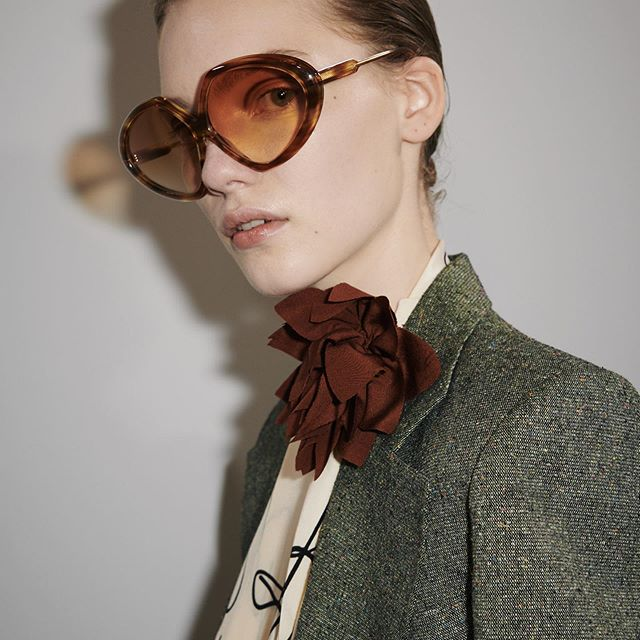 The tailoring is always inspired by menswear and finding ways to update that, so it feels first and new. #VBSS20 x VB