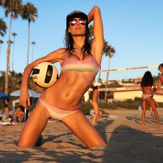 Endless summer ...       #CaliLife #beachvolleyball