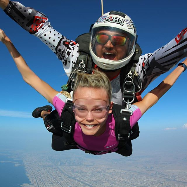 I Swear, This Is My Happy Face    Best Experience #SkyDiving