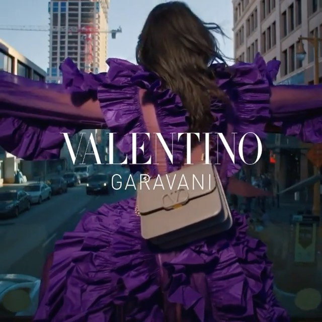 downtown LA with @maisonvalentino by @inezandvinoodh #ad