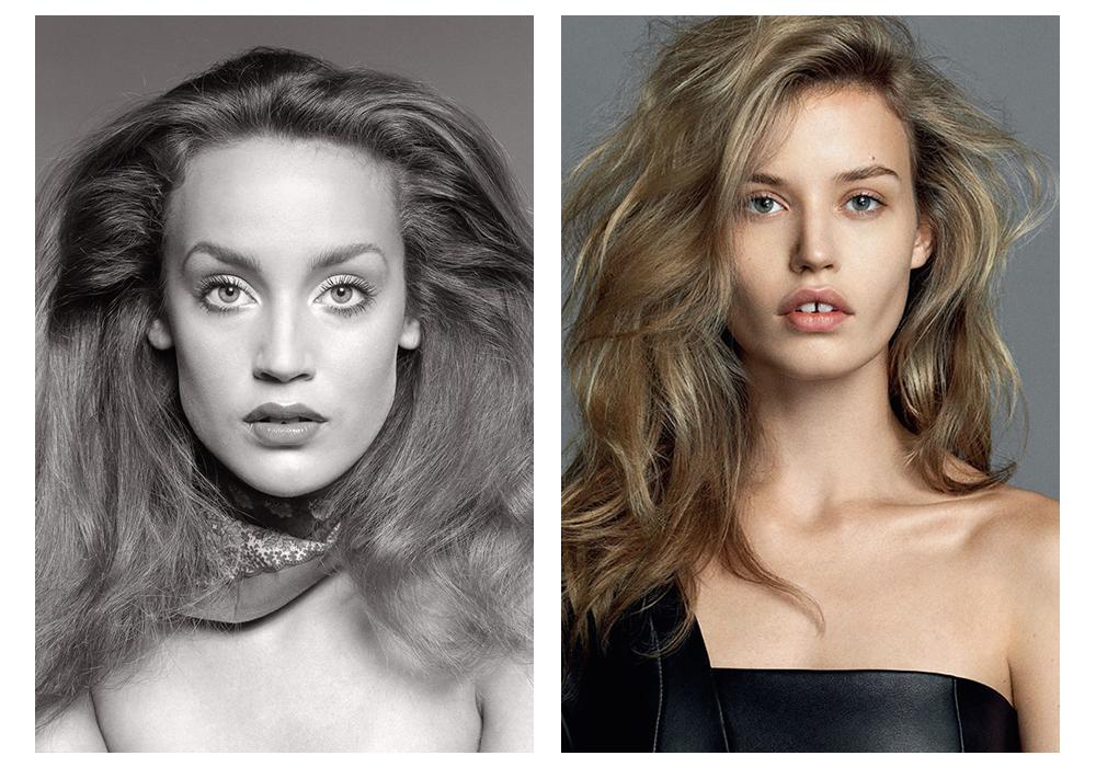 Удам дамжсан шинэ үеийн моделиуд Жерри Холл ба Жоржиа Мэй Жаггер