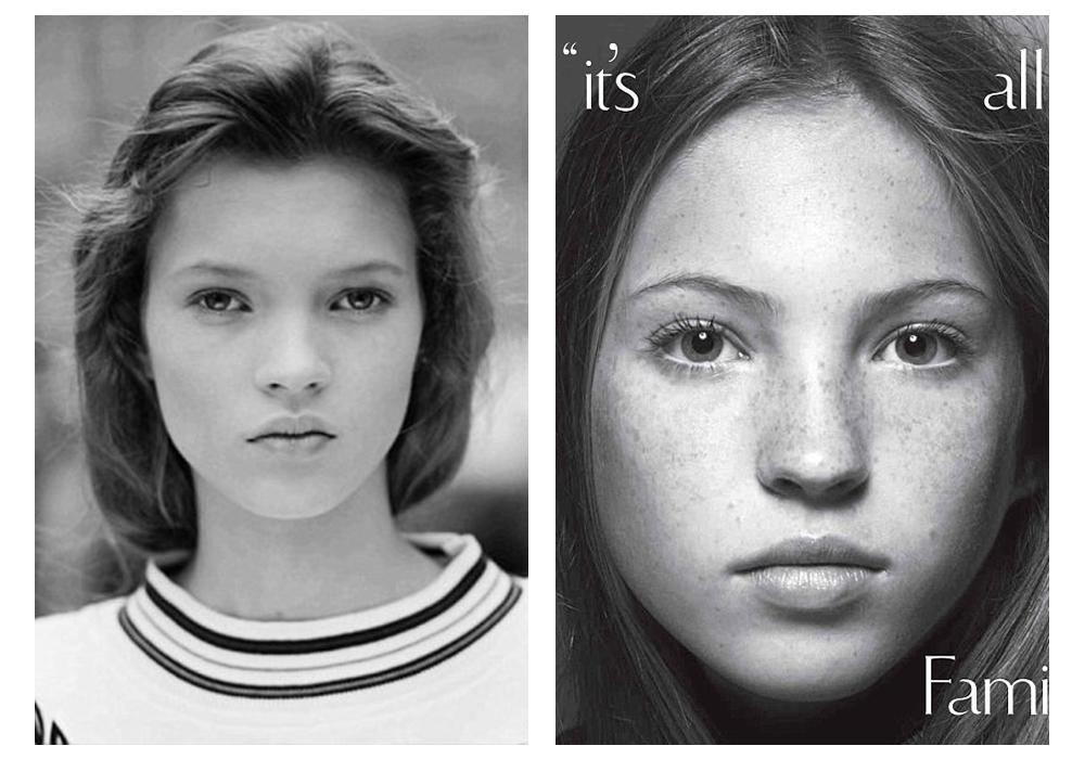 Удам дамжсан шинэ үеийн моделиуд Кейт Мосс ба Лила Грэйс Мосс