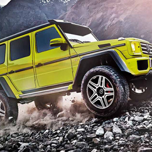 Mercedes Benz: G500 4×4 Squared