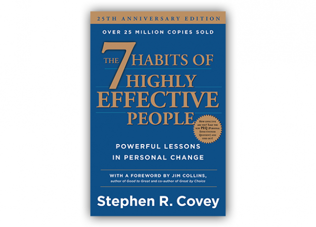 """7 habits of highly effective people"" Stephen Covey"