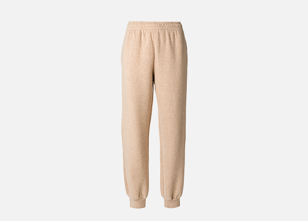 "Өмд<p><a style="""" target=""_blank"" href=""https://www.farfetch.com/au/shopping/women/see-by-chloe--textured-track-pants-item-12171370.aspx?storeid=9178"">See by Chloé</a></p>"