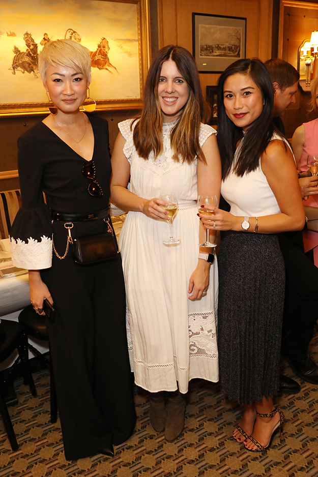 Esther Quek, Maddison Glendinning, and Michelle Vuong