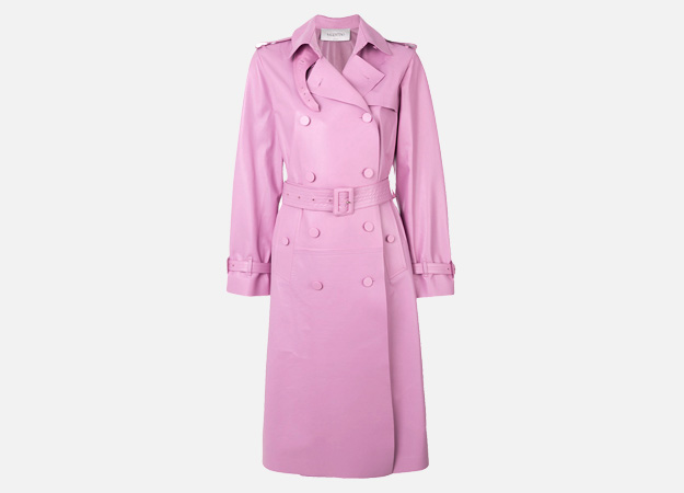 "Valentino<p><a id="""" style="""" href=""https://www.farfetch.com/uk/shopping/women/valentino-trench-coat-item-12376066.aspx?storeid=9728&from=listing&tglmdl=1"" target=""_blank"">Farfetch</a></p>"