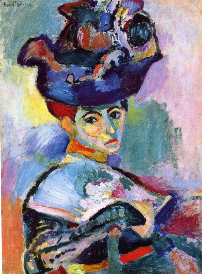 """Woman with a Hat\"", 1905, San Francisco Museum of Modern Art"