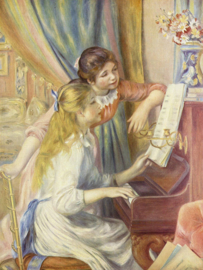"""Girls at the Piano\"", 1892, Musée d'Orsay, Paris"