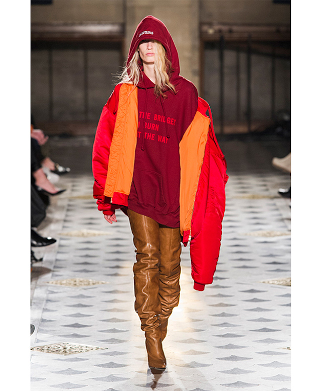 Vetements намар-өвөл 2016